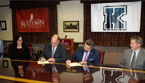 Kutztown University and Kutztown Area School District Dual-Enrollment Agreement